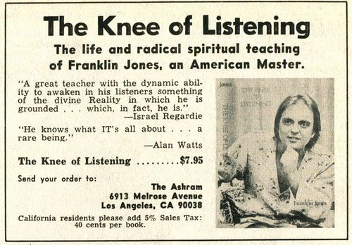 knee of listening advertisement los angeles times