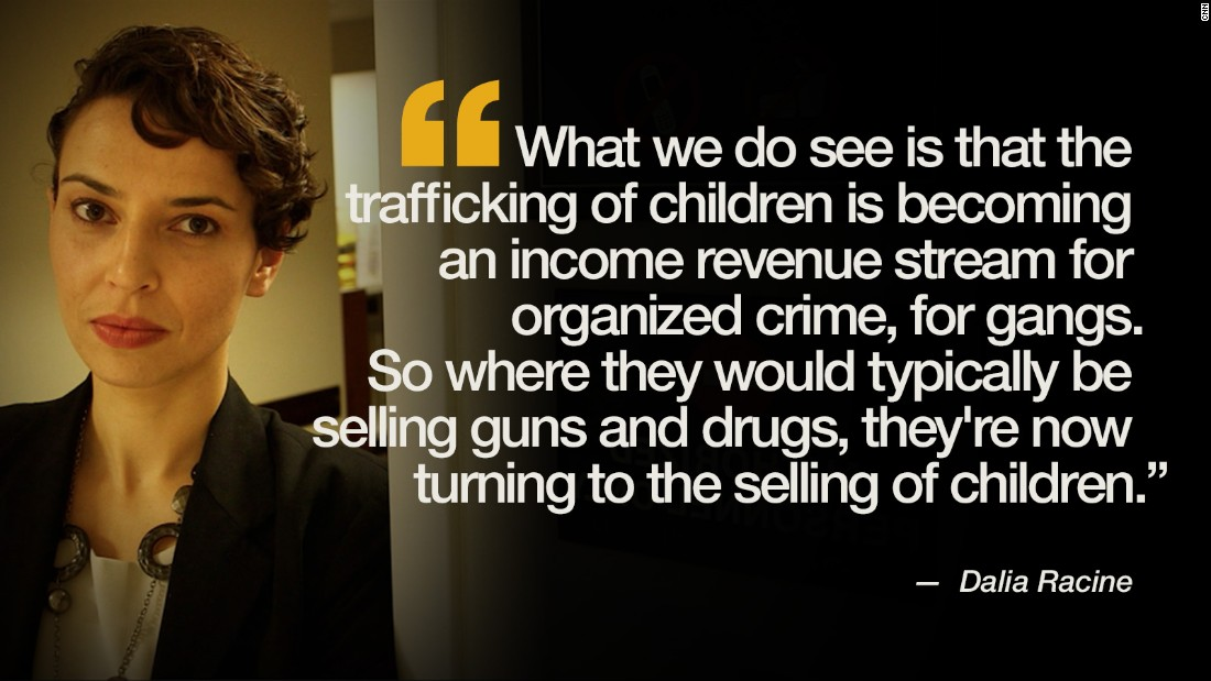 child sex trafficking quote