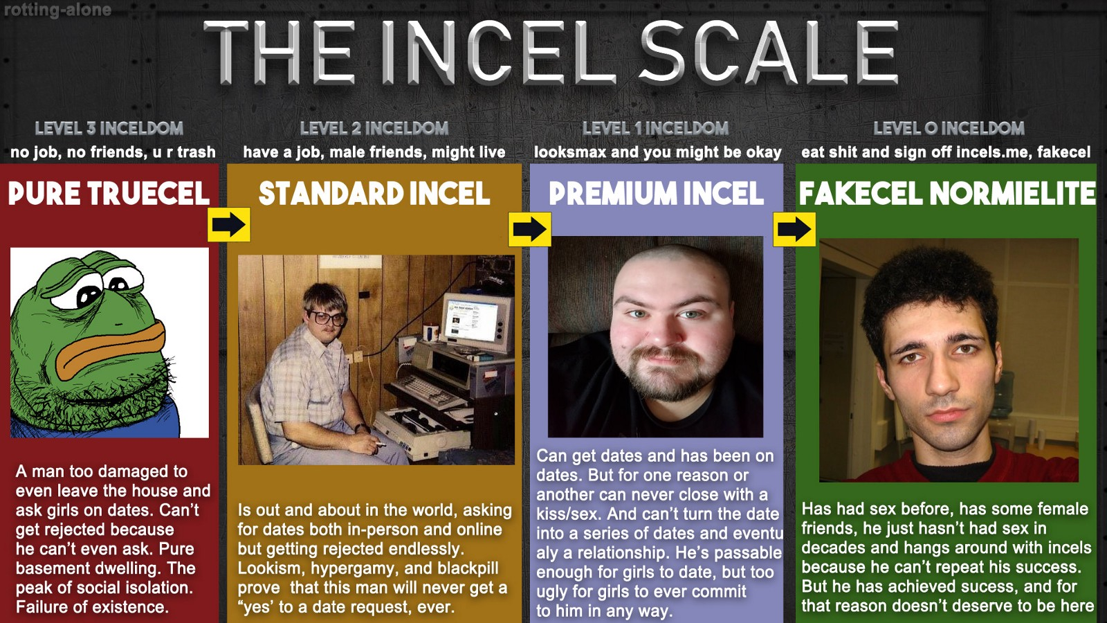 gay vs incel