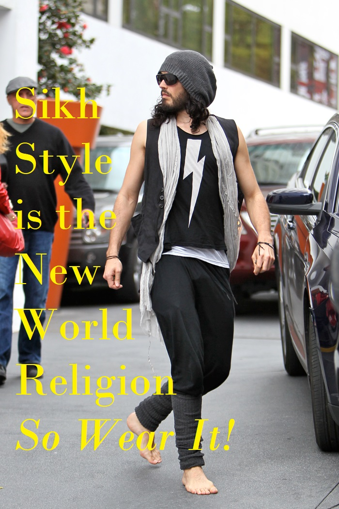 russell brand sexy sikh style
