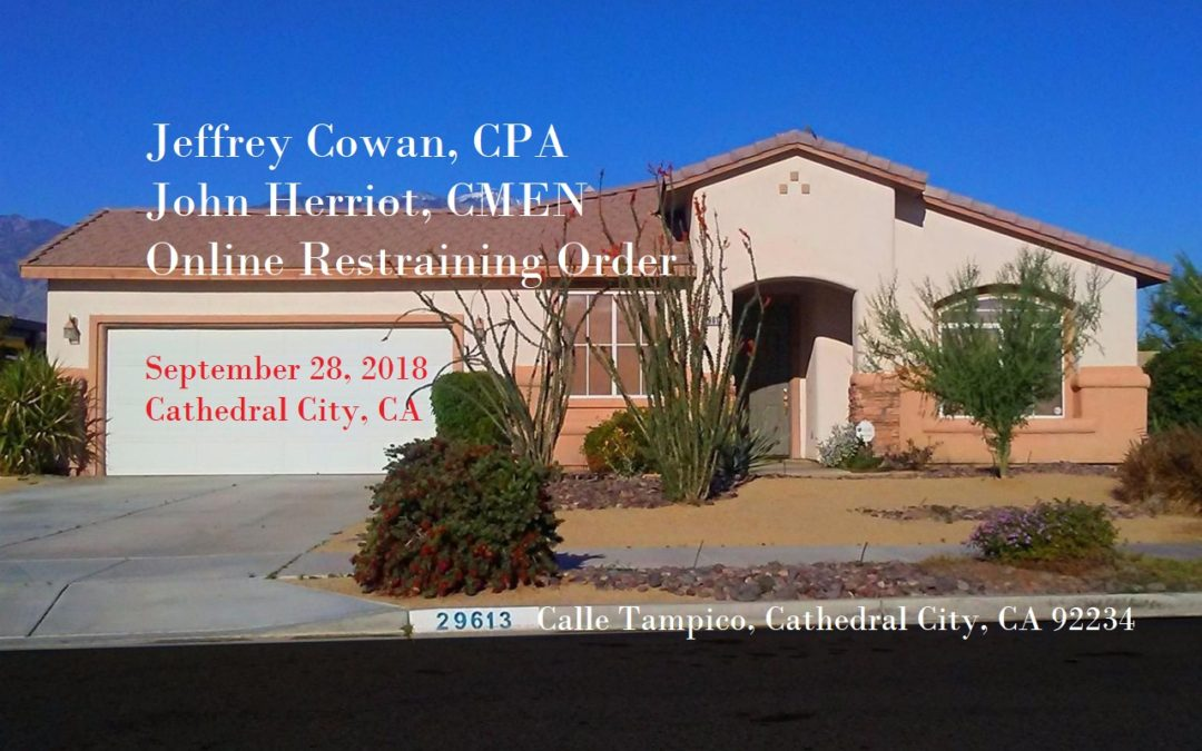 Cathedral City Cowan