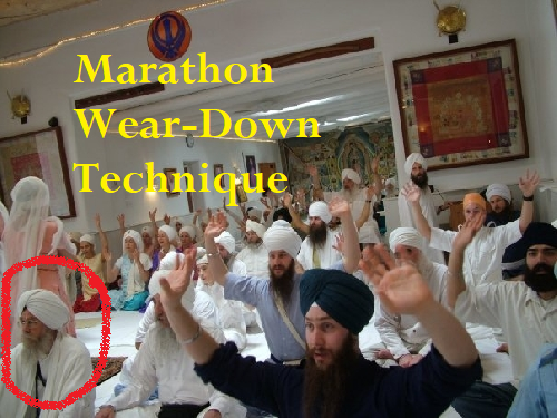 EST, Yoga Marathons & Large Group Behavior Modification