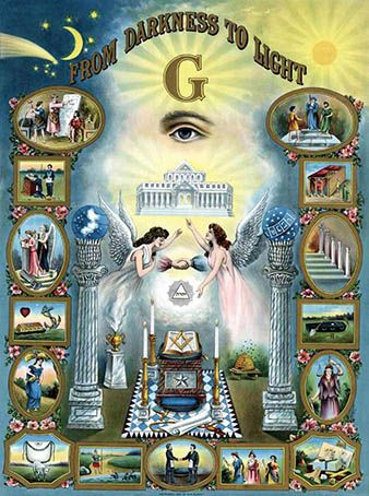 "Bro. Bob was wrong when he taught me that the Freemason ""G"" stands for God"