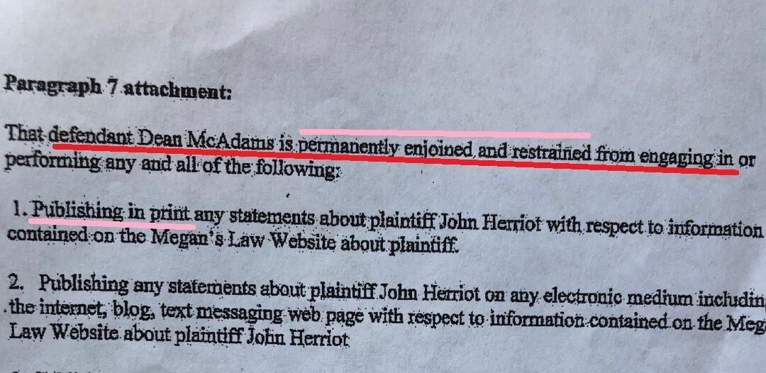 """Herriot's defective pleadings fail to include any mention of """"LegalNoodle"""""""