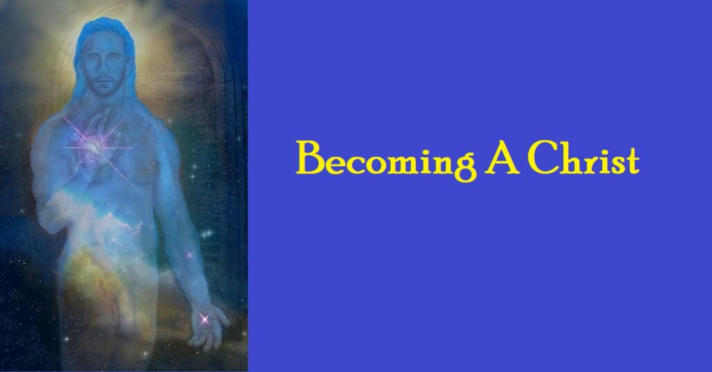 becoming a christ