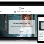 cenote free wordpress theme