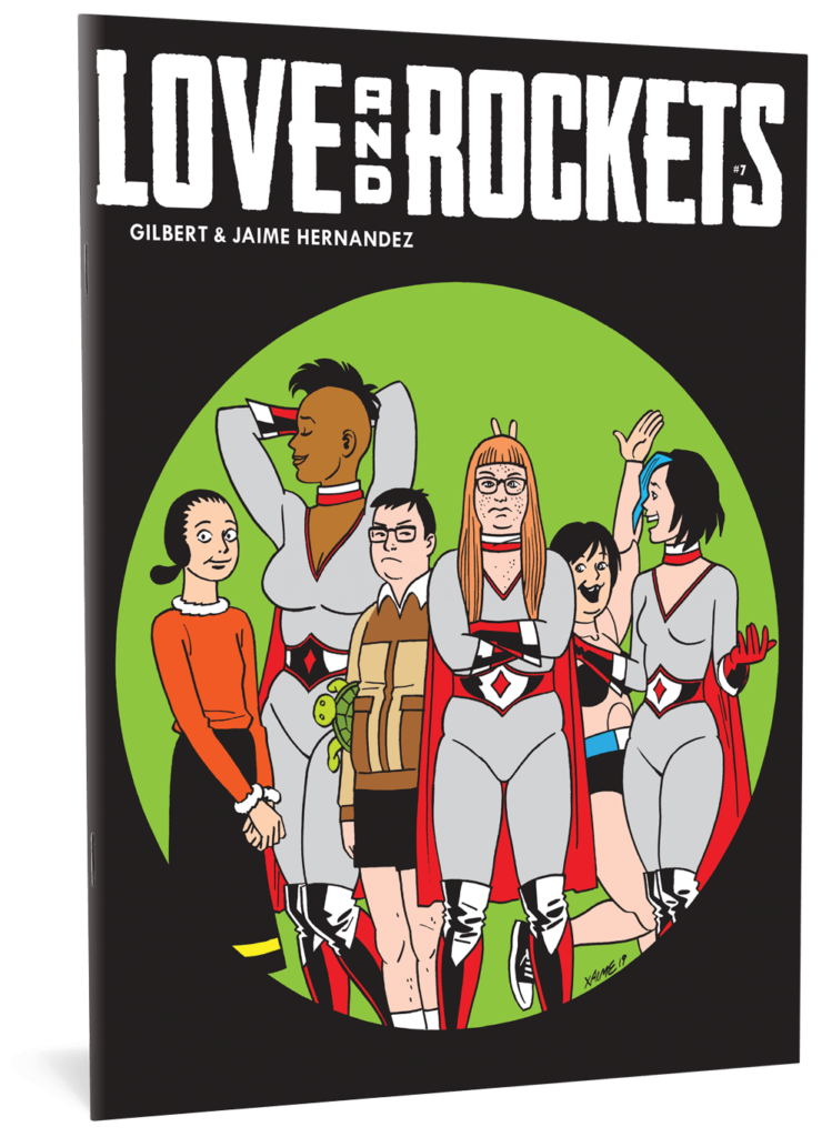 love and rockets comic book cover