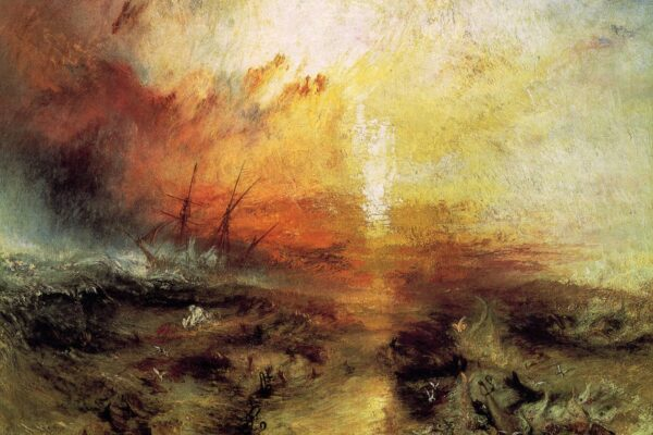 "The Slave Ship (1840) by J.M.W. Turner, Thomas Kinkade and ""Christian"" Marketing"
