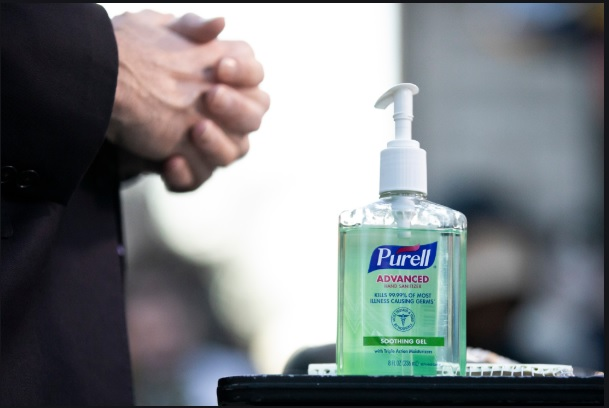 failure to hand sanitize