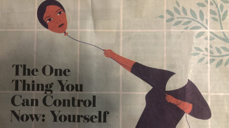 emotional self-control wall street jourrnal image
