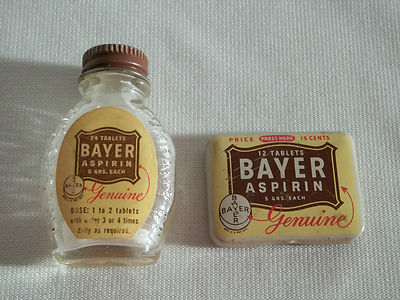 bayer aspirin is the miracle drug