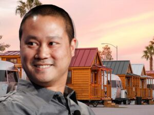 tony hsieh rv downtown las vegas nv
