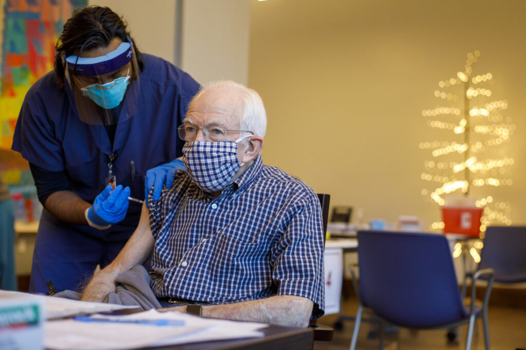 vaccine rollout to nursing homes lags