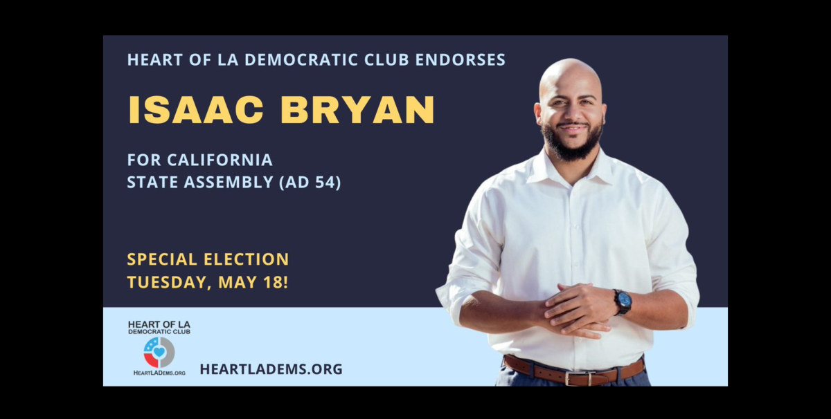 isaac bryan assembly district 54