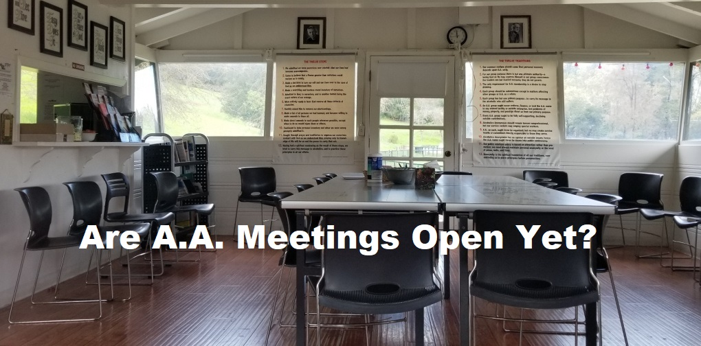 are aa meetings open yet?