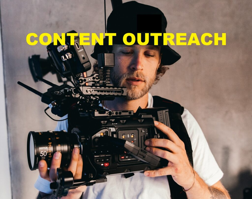 content outreach request